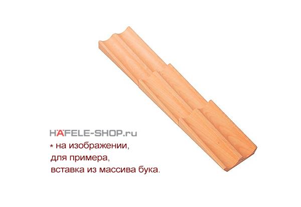 Вставка для специй. Длина 472 мм. Высота 32 мм. Ширина 100 мм. Материал орех.