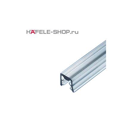 Профиль уплотнитель для стекла 4мм прозрачный, длина 2500 мм