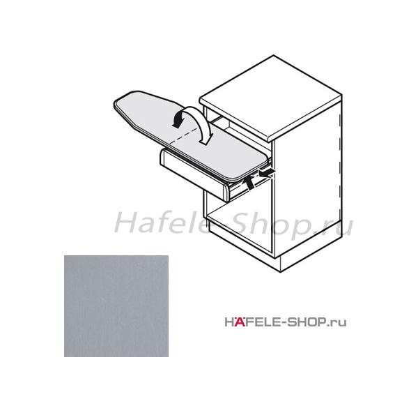 Гладильная доска встроенная. Цвет: алюминий, металлик. Монтаж в выдвижной ящик.