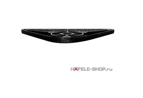 Крепёжная пластина ножки стола, цвет тёмно-серый