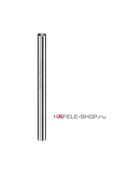 Труба D 80 мм, длина 1300 мм, сталь хромированная, полированная
