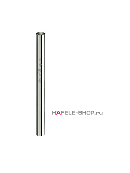 Труба D 80 мм, длина 1300 мм, сталь, покрытие под нержавеющую сталь, лакированная