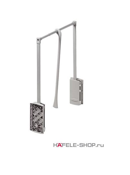 Гардеробный лифт для ширины шкафа 770-1200 мм нагрузка 10 кг цвет алюминий