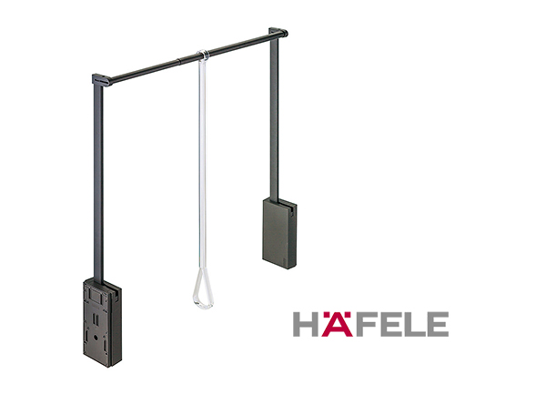Гардеробный лифт для ширины шкафа 750-1110 мм нагрузка 10 кг цвет коричневый