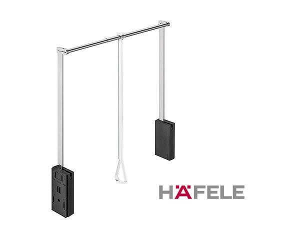 Гардеробный лифт для ширины шкафа 750-1110 мм нагрузка 10 кг цвет черный / хром