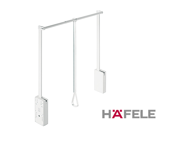Гардеробный лифт для ширины шкафа 750-1110 мм нагрузка 10 кг цвет белый