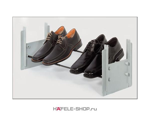 Раздвижной держатель для обуви 580-900 мм цвет серый, под алюминий