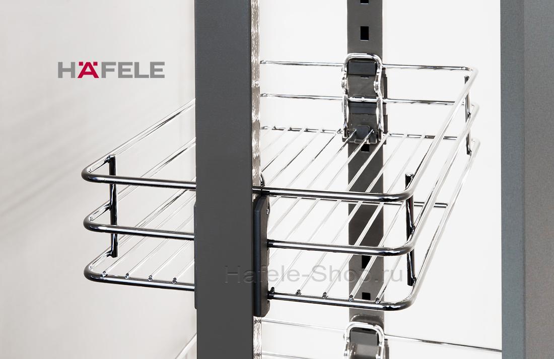 Выдвижная колонна в кухню, CRYSTAL, ширина фасада 400 мм, высота 1700 - 2000 мм