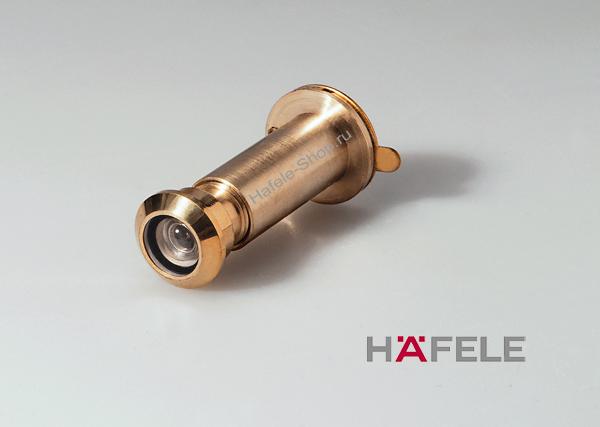 Дверной глазок, для двери толщиной 31-57 мм, цвет золото, угол обзора 170 градусов