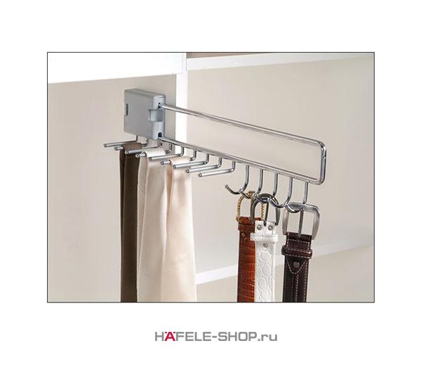 Выдвижной держатель для галстуков и ремней