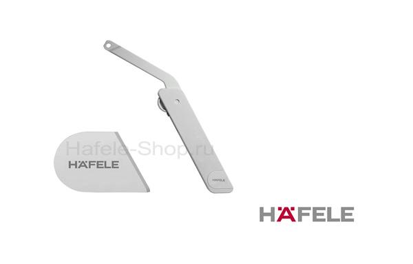 Заглушка HAFELE для Free flap H1.5, серая, левая