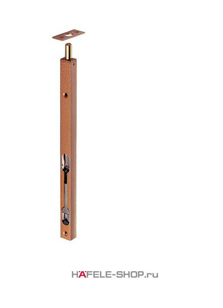 Дверной шпингалет 400 мм сталь цвет Лимба