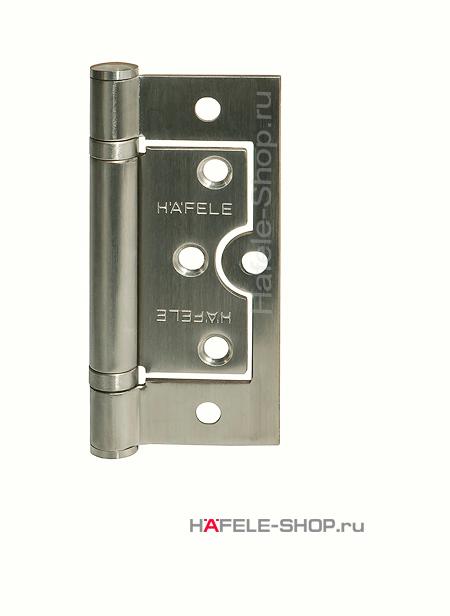 Петля карточная для двери до 60 кг, материал нержавеющая сталь