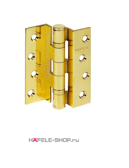 Петля для двери с четвертью весом до 58 кг, сталь, цвет под золото