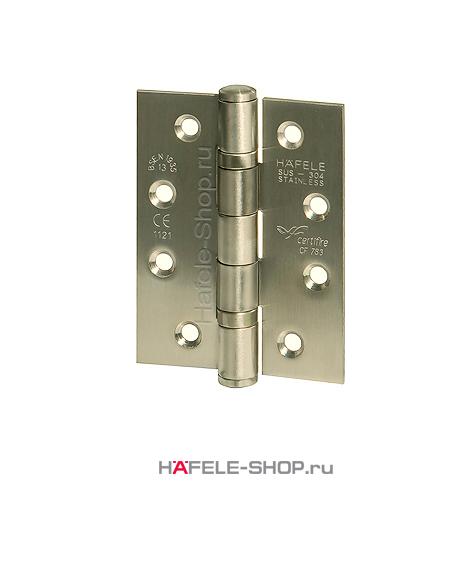 Петля карточная для двери весом до 120 кг, материал нержавеющая сталь