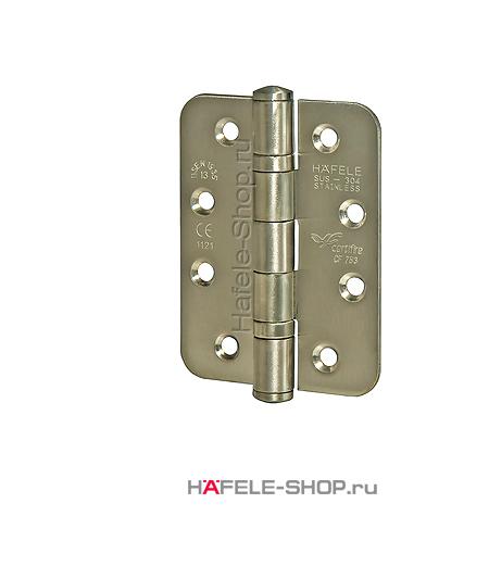 Петля карточная для двери до 120 кг, материал нержавеющая сталь