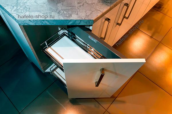 Наполнение углового шкафа в кухне, ширина 300 мм, ELEGANCE, правый