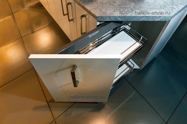 Наполнение углового шкафа в кухне, ширина 300 мм, ELEGANCE, левый