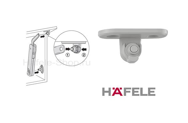 Крепление к фасаду, для Free flap H1.5, серое