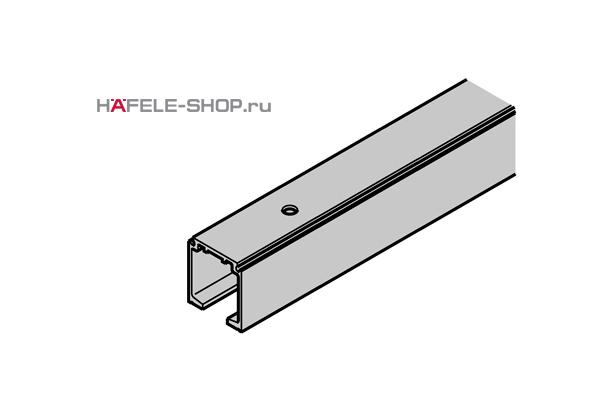 Направляющая шина для раздвижной двери HAFELE Classic. Вес двери 40-120 кг. Длина 2000 мм.