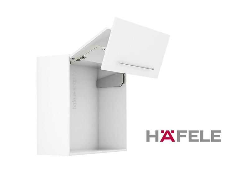 Подъемный механизм складного фасада FREE FOLD. Высота фасада 480-530 мм. Вес  2,6- 5,2 кг.