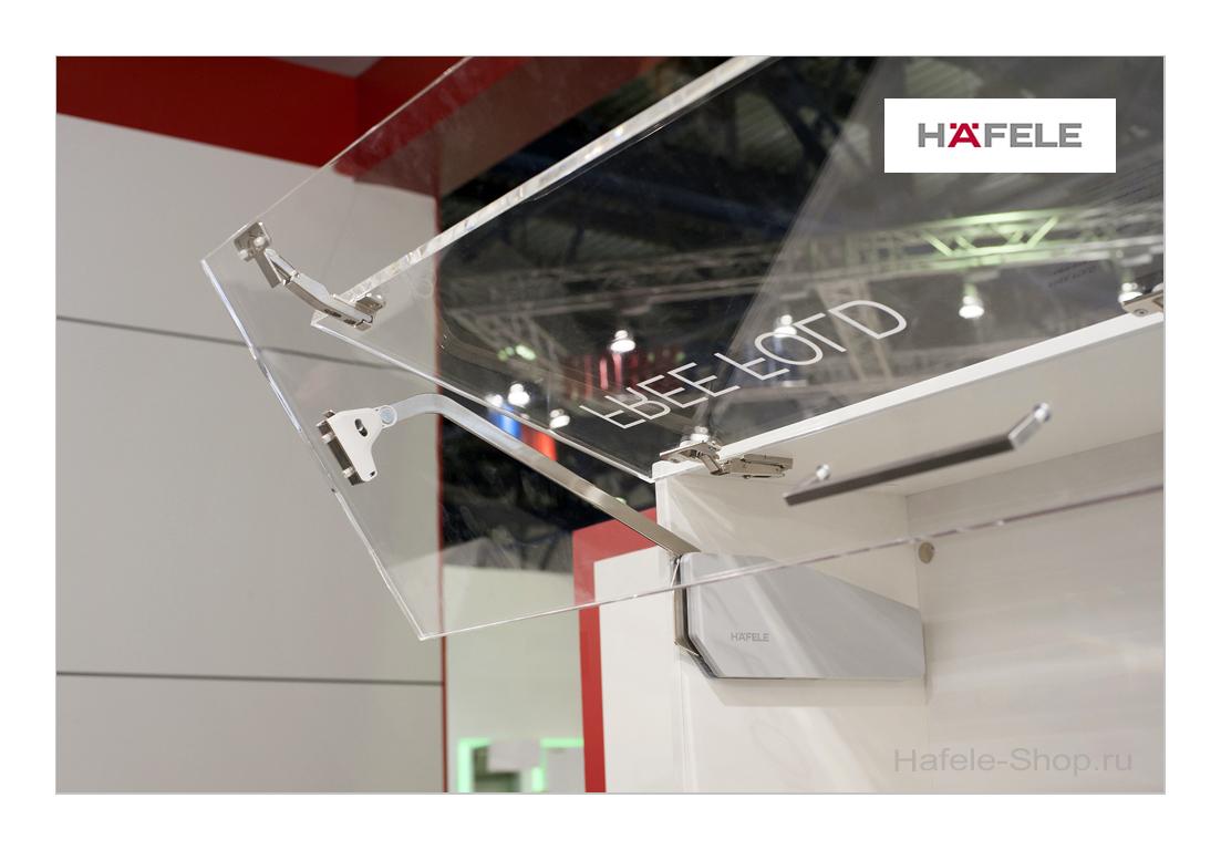 Подъемный механизм складного фасада FREE FOLD. Высота фасада 480-530 мм. Вес  5,2-10,6 кг.