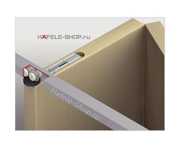 Механизм складной двери из 2х створок T-Snap G2 , Вес двери до 40 кг.