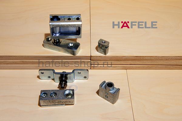 Механизм распашной двери, установка с нижней направляющей, Slido Fold 100-T