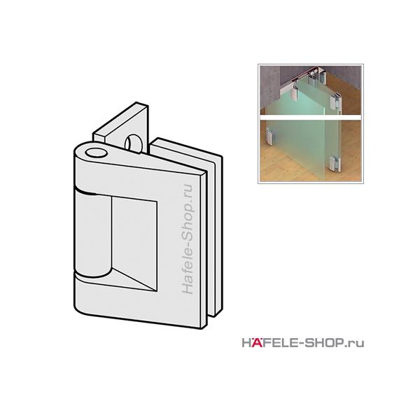 Наружная петля Fold 70-R, верхняя и нижняя