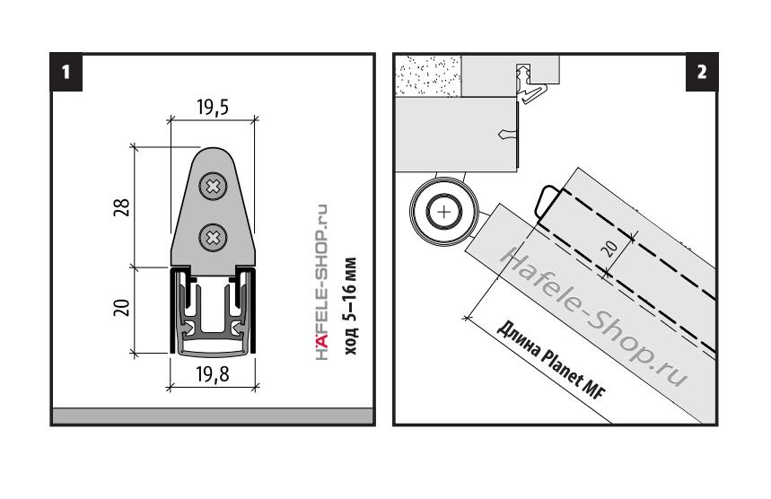 Автоматический порог для дверей купить